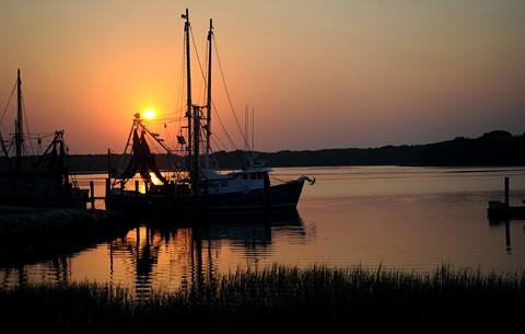 Skull Creek sunset