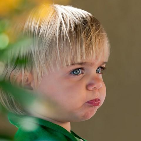 Sulky child