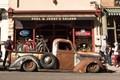 A rusty old truck in Jerome, AZ