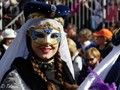 """The """"Fête des citrons"""" takes place every year in Menton, French Riviera. Until 2017 the general public was allowed to come close to the beautiful performers of the Carnival Corso."""
