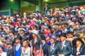 Royal Ascot - anxious crowd