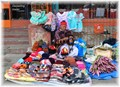 Clothing seller in Darjeeling
