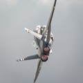 Another excellent FA-18 Hornet airshow performance
