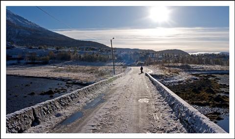 Tidlig vinter på Møre