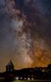 The Milky Way over the Farm Barn, Shelburne Farms, VT