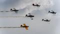 Airshow in Roskilde near Copenhagen, Denmark
