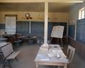 Old school room at Bodie, Ca
