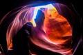 Sun shine through Antelope Canyon 2