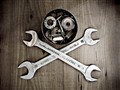 METAL JOLLY ROGER
