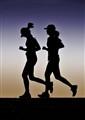 Running hard
