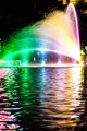 Colorfull fountains