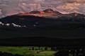 Sunset on Long's Peak