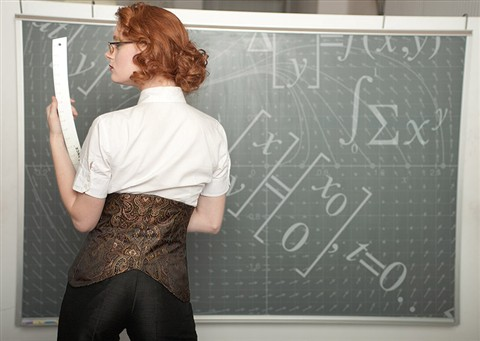 Dangerous Mathematicians Look Book Shoot