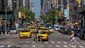 Taxi Traffic - 5th Ave., New York