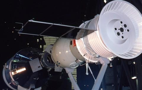 Apollo-Soyuz docking
