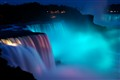 Light Show at Niagara Falls