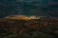 Yunnan_Dongchuan_Red_Lands_luoxiagou_dorf_erleuchtet