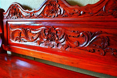 Hand Carved Narra Bench Gerry328 Galleries Digital