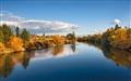 View from Argonne bridge Spokane Wa,