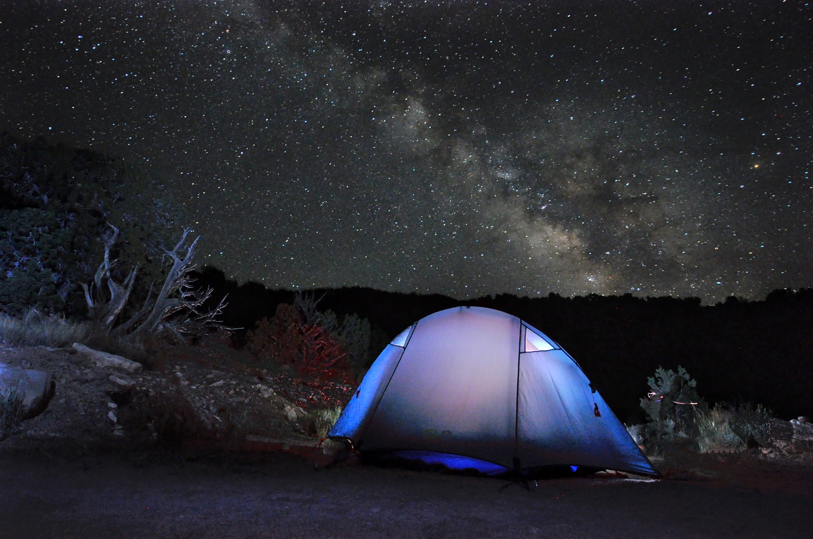 night tent HDR: Crankybob: Galleries: Digital Photography ...