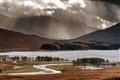 Incoming across Loch Tulla