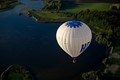 Balloon ride in August over Denmark