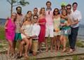 Carrabelle, Florida beach party
