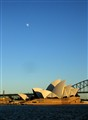 Moon Over Opera House