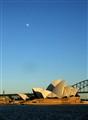 Moon Over Opera House