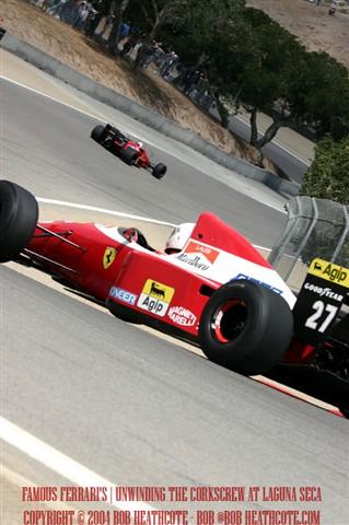 Famous Ferrari's
