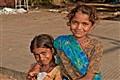 Jeunes filles, Haridwar, Inde