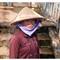 Ethnic Viet-Namese lady, Kompong Chhnang.