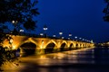 """Pont de pierre, """"Stone Bridge"""", Bordeaux, France"""