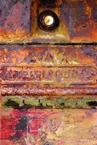 Rusty Engine Block