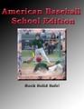Kyrene Middle School player slides in safe against Akimel Middle School.