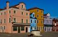 Piazza Baldassarre Galuppi. Burano (Venezia).