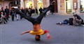 BREAKDANCING IN THE STREETS OF ROME