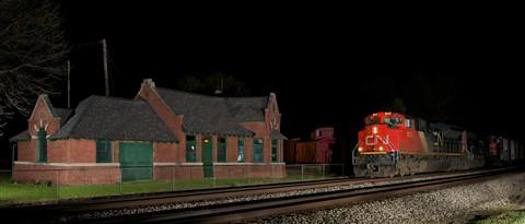Vicksburg, MI. CN 8923 #393 4-6-2012-2