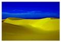 Yellow dunes.