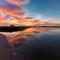 Ormond Lagoon Sunrise Reflection