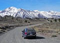 hot cr rd. road, owens valley / calif.