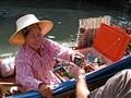 Waterborne refreshment seller, Bangkok