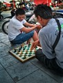 If they are playing chess, where is the King? the Queen?
