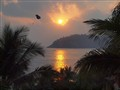 sunset in Zhiuatanejo