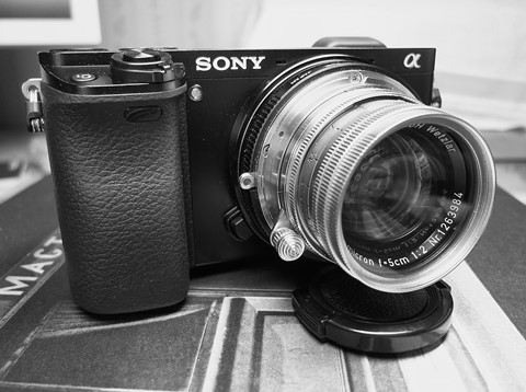 Sony a6000 and Summicron 50/2 1955