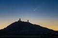 Comet with Hazmburk Castle