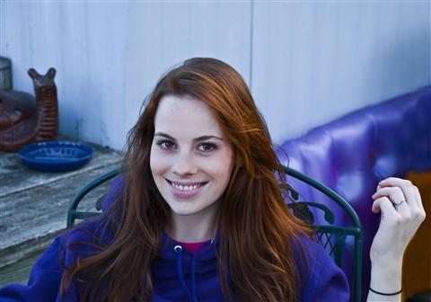 Julie in Blue pp