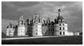 The royal castle for François 1°, Chambord