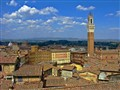 Piazza Del Campo from unfinished nave of Siena Duomo