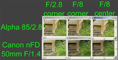 nFD-CanonF1pt4-versus-Alpha85F2pt8